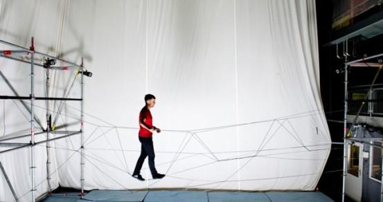create rope bridge