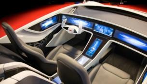 borsch autonomous car prototype