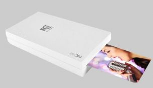 portable instant photo printer