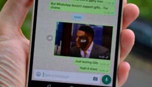 GIF in WhatsApp