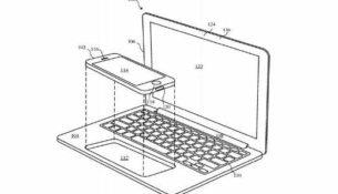 Apple patents a laptop